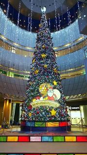 リバーウォークのクリスマスツリー