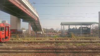 鳥栖駅から見える、蒸気機関車